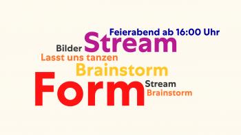 Stream Brainstorm Form